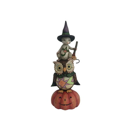 Jim Shore Ghost and Goblins Gather Here Halloween Stacked Figurine 4058848 New - Jim Murphy Halloween