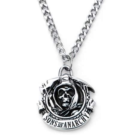 fox sons of anarchy logo pendant