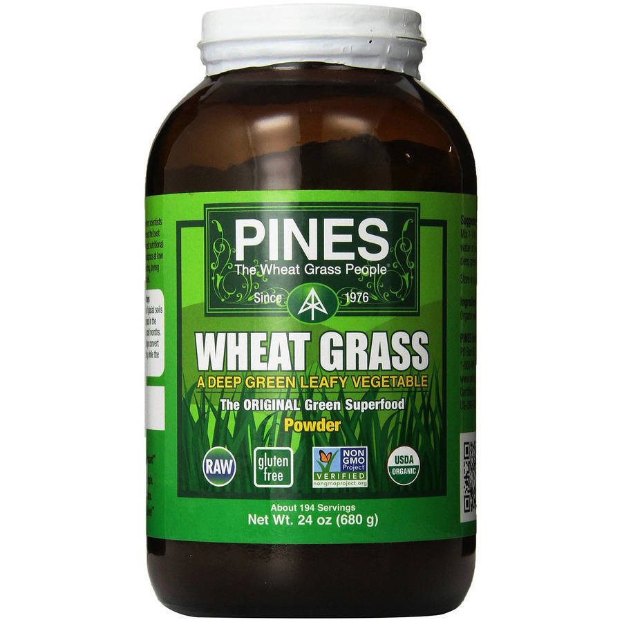 Pines International Organic Wheatgrass Powder, 1.5 Lb