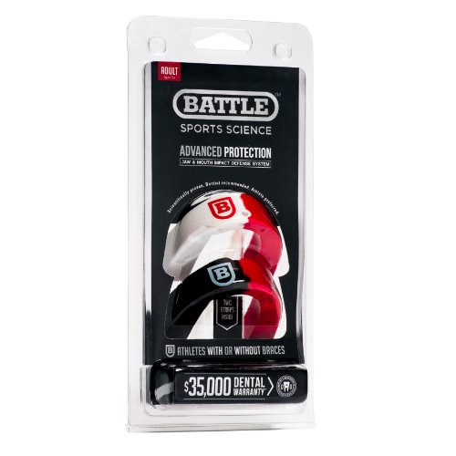 Battle Sports Science 2 Color Mouthguard - Youth