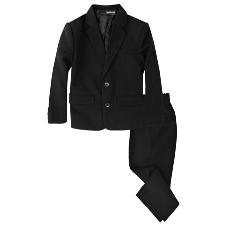 Gino Giovanni Boys 2 Piece Suit Set G218 - Boys Santa Suit