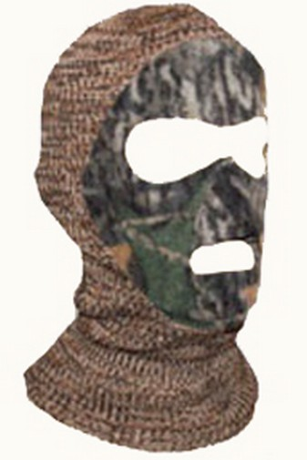 QuietWear Knit and Fleece Patented Mask, Adventure Grey by Reliable of Milwaukee