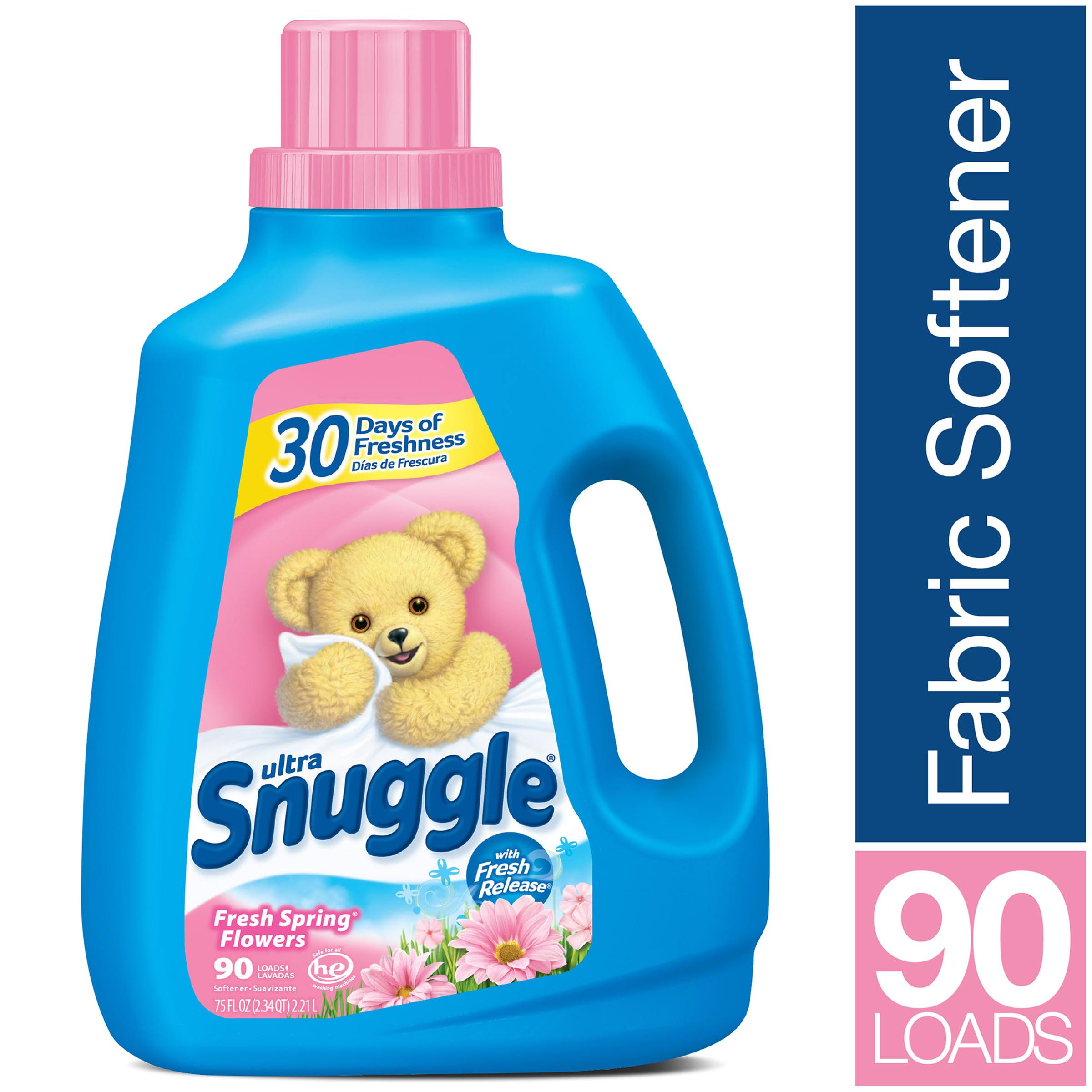Snuggle Liquid Fabric Softener Fresh Spring Flowers 75 Ounce 90