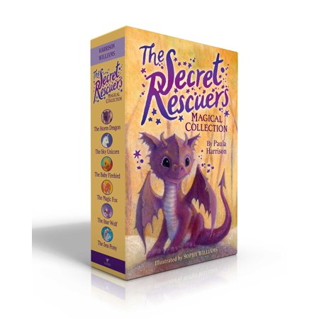 The Secret Rescuers Magical Collection : The Storm Dragon; The Sky Unicorn; The Baby Firebird; The Magic Fox; The Star Wolf; The Sea - Sea Babies