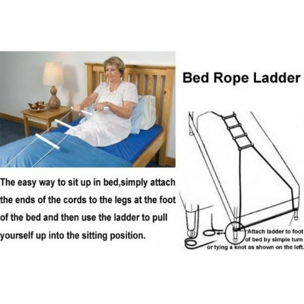 Medca Bed Helper Adjustable Home Assist Bed Rope Latter Walmart Com Walmart Com