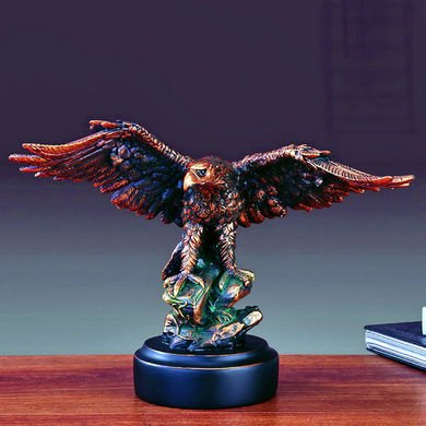 Bronze Eagle Sculpture Statue 8