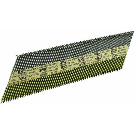 - Senco ProHead 34 Degree Paper Tape Offset Round Head Framing Stick Nail