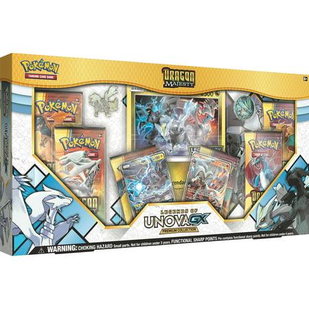Pokemon TCG: Dragon Majesty Legends Of Unova GX Premium Collection