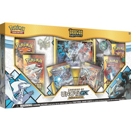 Pokemon TCG: Dragon Majesty Legends Of Unova GX Premium (Pokemon Tcg)
