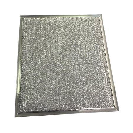 "Range Hood Filter - 9"" x 10.5"" x 1/8"" Grease Type"