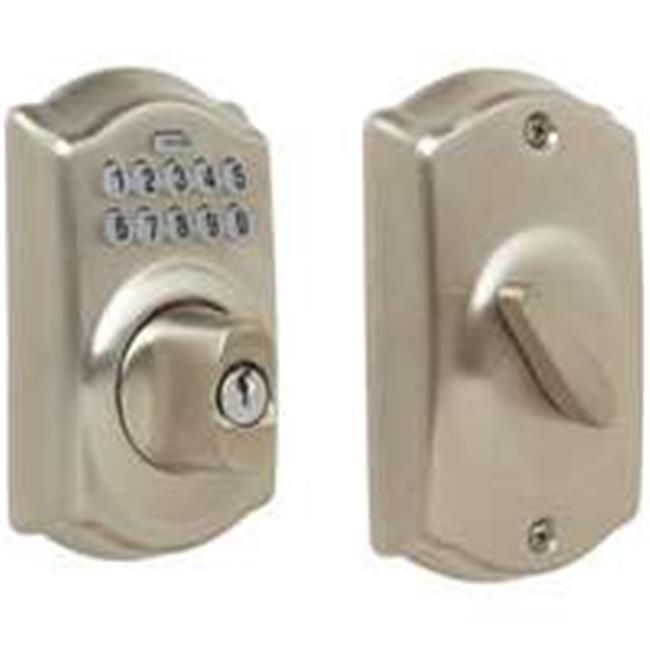 Schlage Lock 7064801 Electronic Deadbolt Satin Nickel