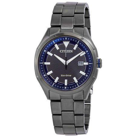 Citizen WDR Eco-Drive Blue Dial Men's Watch AW1147-52L Blue Dial Arabic Hour Markers