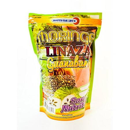 Aloe Seed - Natural Moringa Oleifera Premium Superfood Weight Loss Linaza Guanabana Flax Seed chia aloe vera,cactus pineapple caralluma Soursop 14 oz