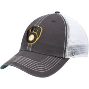 Milwaukee Brewers '47 Trawler Clean Up Trucker Snapback Hat - Graphite/White - OSFA