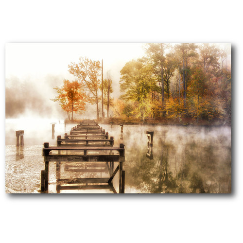 Courtside Market Fallen Mist II Photographic Print on Wrapped Canvas