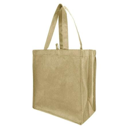 Reusable Small Eco Friendly Non Woven Tote Bags Book Bag Christmas