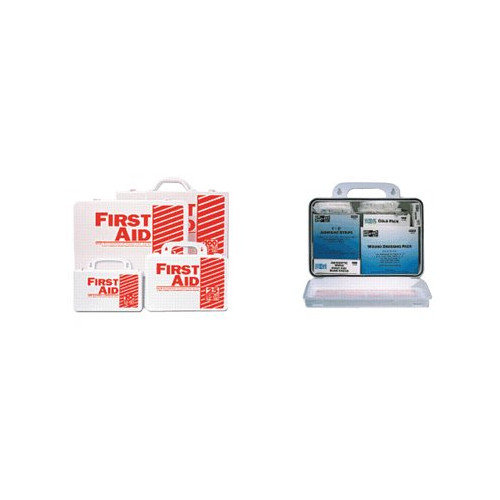 Pac-Kit 25 Person Industrial First Aid Kits - weatherproof plastic 25person ind. first aid k