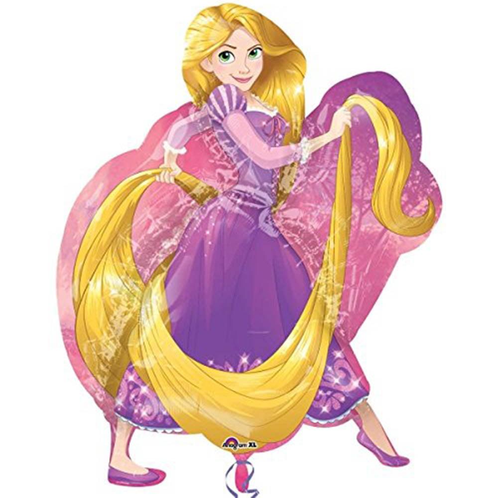 "Disney Princess Rapunzel Character Super Shape Foil Balloon 31"""