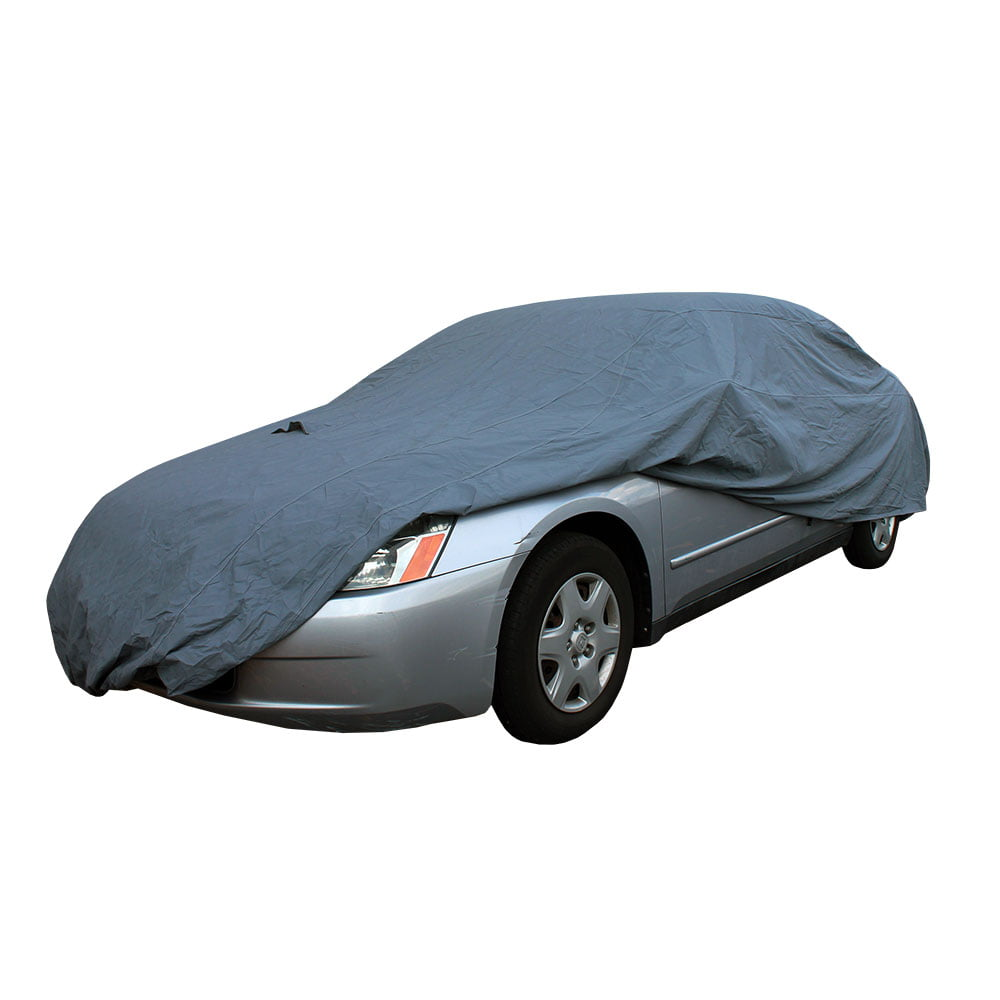 Detailers Preference Strong Shell Car Cover Indoor Outdoor Durable Protection Size Large