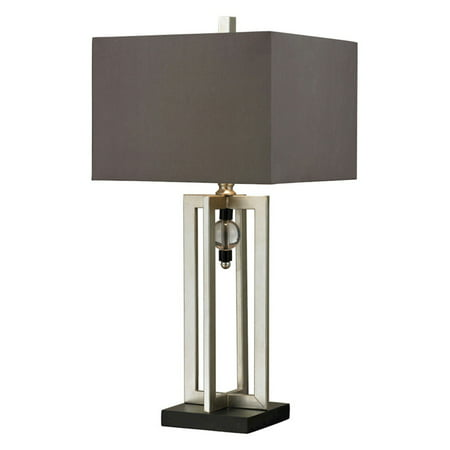 Dimond Lighting Silver Leaf Table Lamp