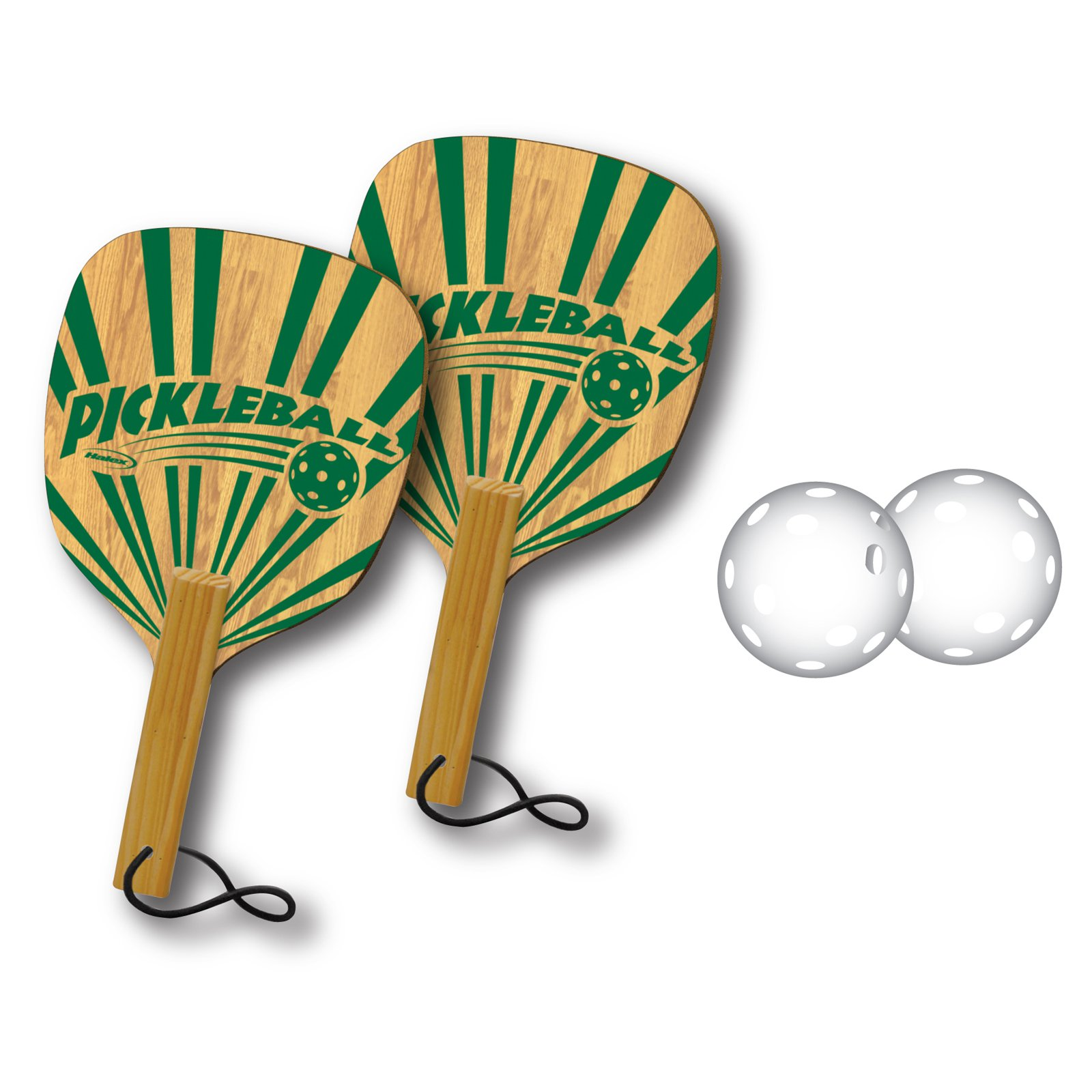 Halex 2-Player Pickleball Set with Paddles and Balls