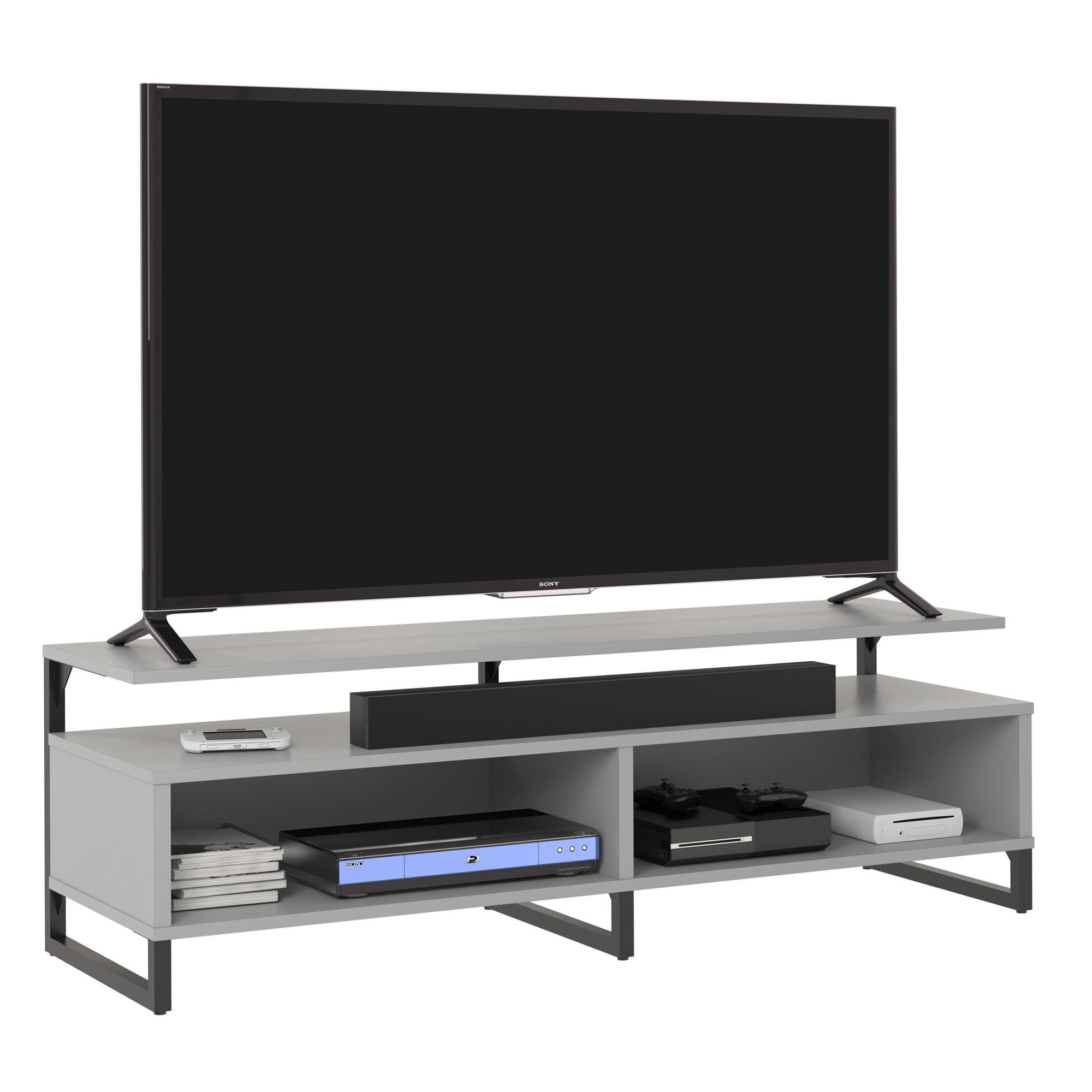 """Ameriwood Home Whitburn TV Stand for TVs up to 65"""", Black Oak"""