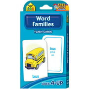 Flash Cards-Word Families, 54pk