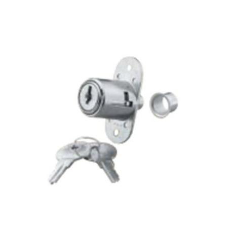 Knape and Vogt Plunge Lock Keyed Alike-Nickel 984KA 90 NP