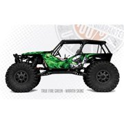 FreqEsKinz Green True Fire Wrap Axial Wraith FRQ20530