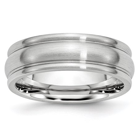 Cobalt 7mm Rounded Edge Wedding Ring Band Size 7.00 Classic Domed W/edge Fashion Jewelry Gifts For Women For Her - image 10 de 10