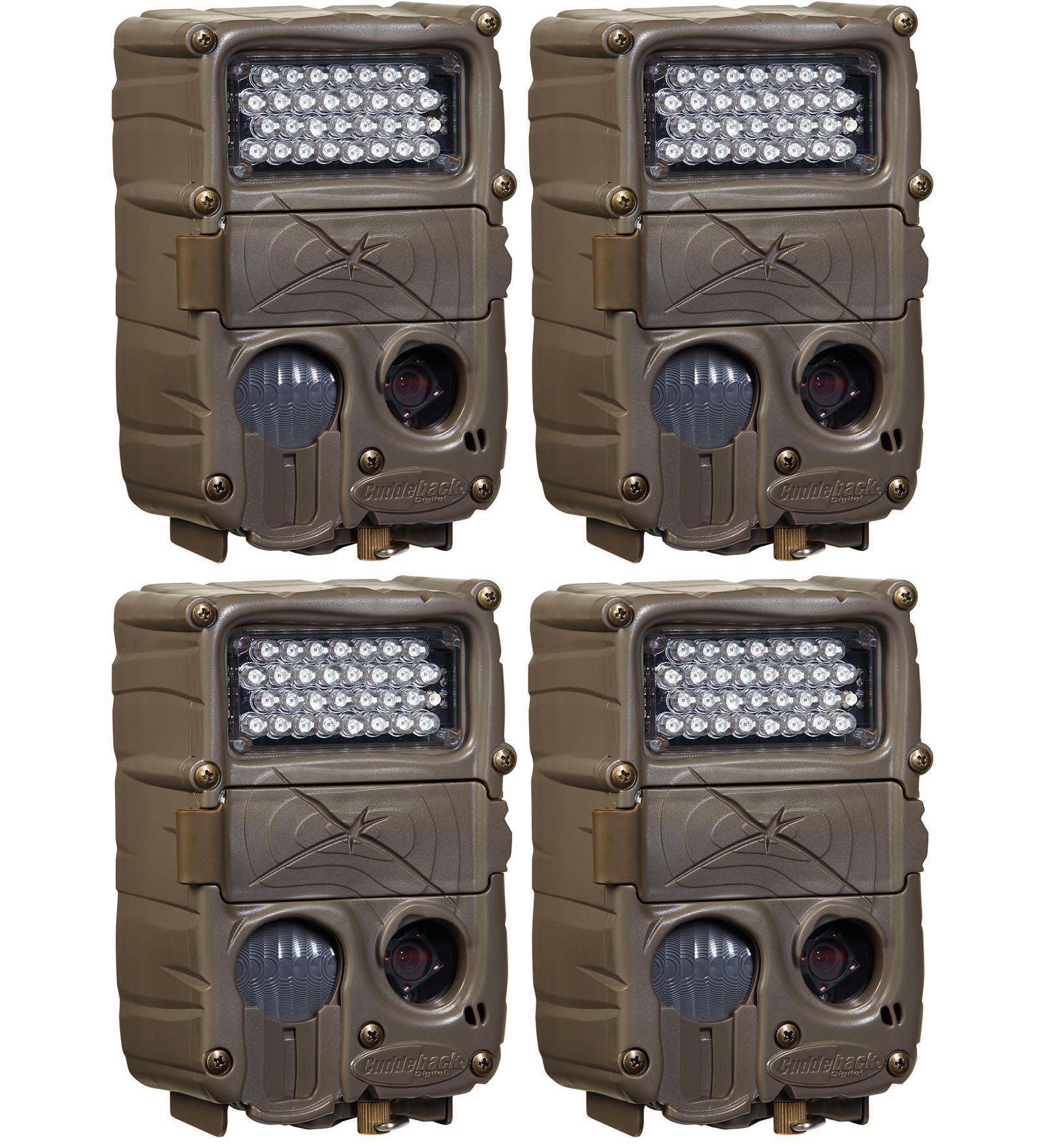 (4) CUDDEBACK C2 Long Range Xchange IR Infrared Trail Gam...