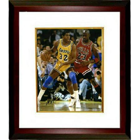 buy online df182 66ab9 Athlon CTBL-MW16948 Magic Johnson Signed Los Angeles Lakers ...