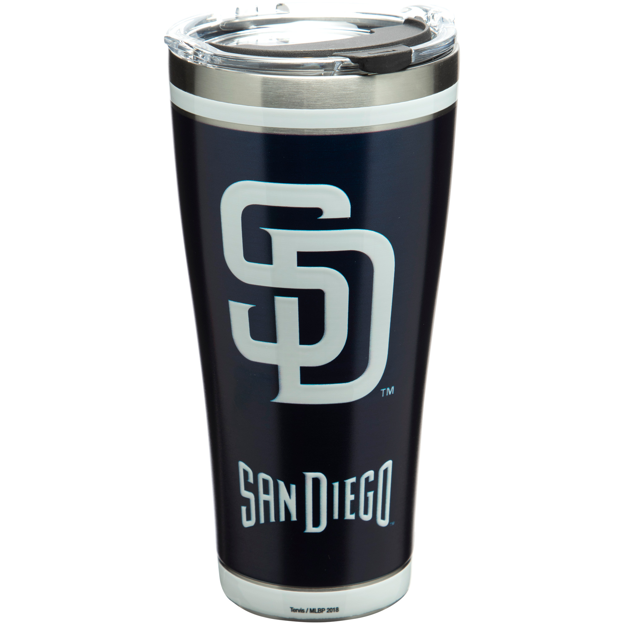 San Diego Padres Tervis 30oz. Stainless Steel Tumbler - No Size