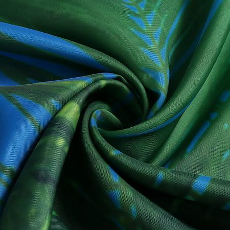 Tropical Beach Palm Trees Waterproof Bathroom Shower Curtain Art Decor 71 X 71 Inch - image 2 de 11