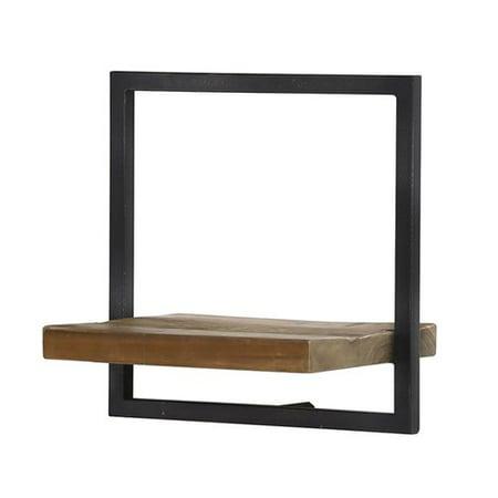 Union Rustic Langridge Metal Frame Wall Shelf
