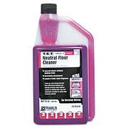 Franklin Cleaning Technology T.E.T. #2 Neutral Floor Cleaner, Citrus, 32oz Bottle, 3/Carton