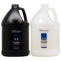 "TRESemme 4+4 Deep Cleansing Shampoo + Moisturizing Conditioner 1 Gallon ""Set"""
