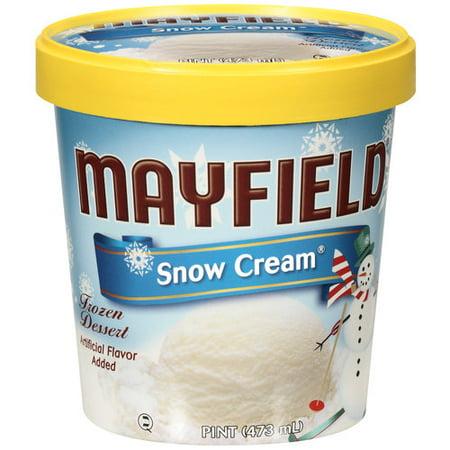 Mayfield Snow Cream Pint