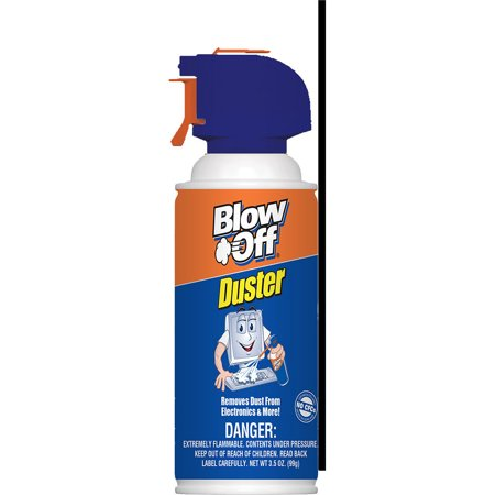 Max Professional 3.5-ounce Blow Off Air Duster Cleaner 35 Duster Deck Cover