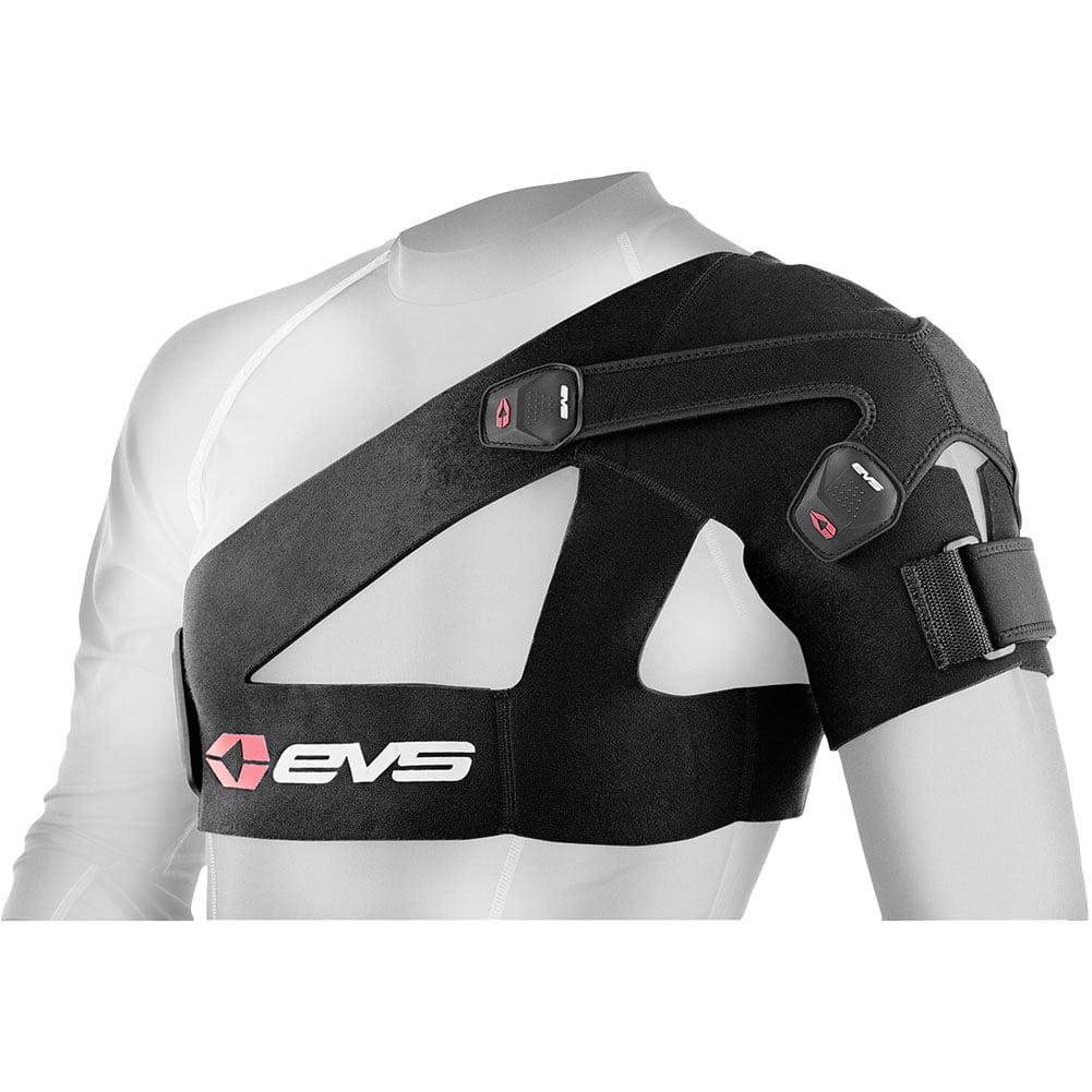 BLACK EVS SB03 Shoulder Brace-MEDIUM ADULT