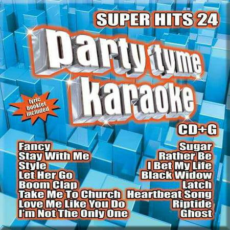 (Party Tyme Karaoke: Super Hits 24 (CD))
