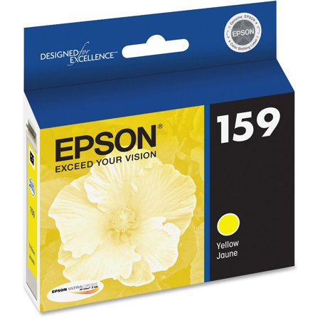 Epson, EPST159420, 159 UltraChrome Hi-Gloss 2 Ink Cartridge, 1 Each (9880 Ultrachrome K3 Ink)