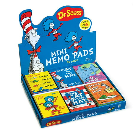 - DR. SEUSS MINI MEMO PAD 48/DS