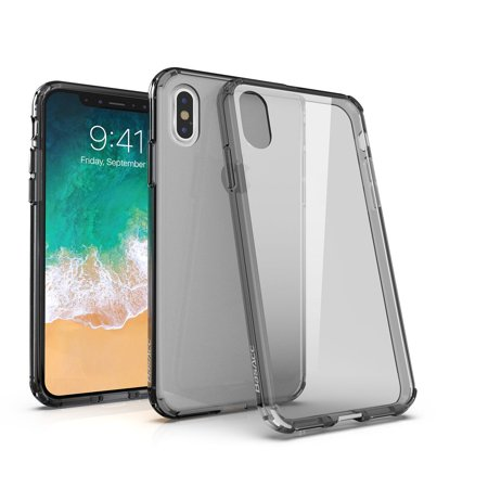 best sneakers b9414 053ba iPhone X Case, iPhone X edition Case, by BasAcc Crystal Clear Back Hard  Panel Cover with Shock-Absorbing TPU Bumper for Apple iPhone X edition 5.8