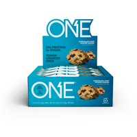 ONE Protein Bar, Chocolate Chip Cookie Dough, 20g Protein, 12 Ct
