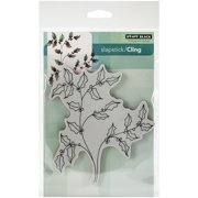 """Penny Black Cling Rubber Stamp 5""""X7.5"""" Sheet-Happy Holly"""