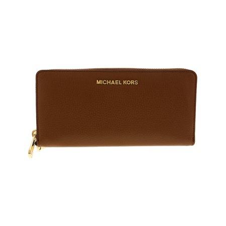 Michael Kors Jet Set Travel Continental Leather Wristlet -