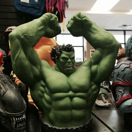 LAMINATED POSTER Toy Muscular Incredible Hulk Superhero Green Poster Print 24 x 36 - Super Muscular Baby