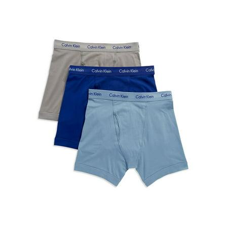 51f5eb20e41a Calvin Klein - Calvin Klein Men's Cotton Stretch Boxer Brief (3-Pack) -  Walmart.com