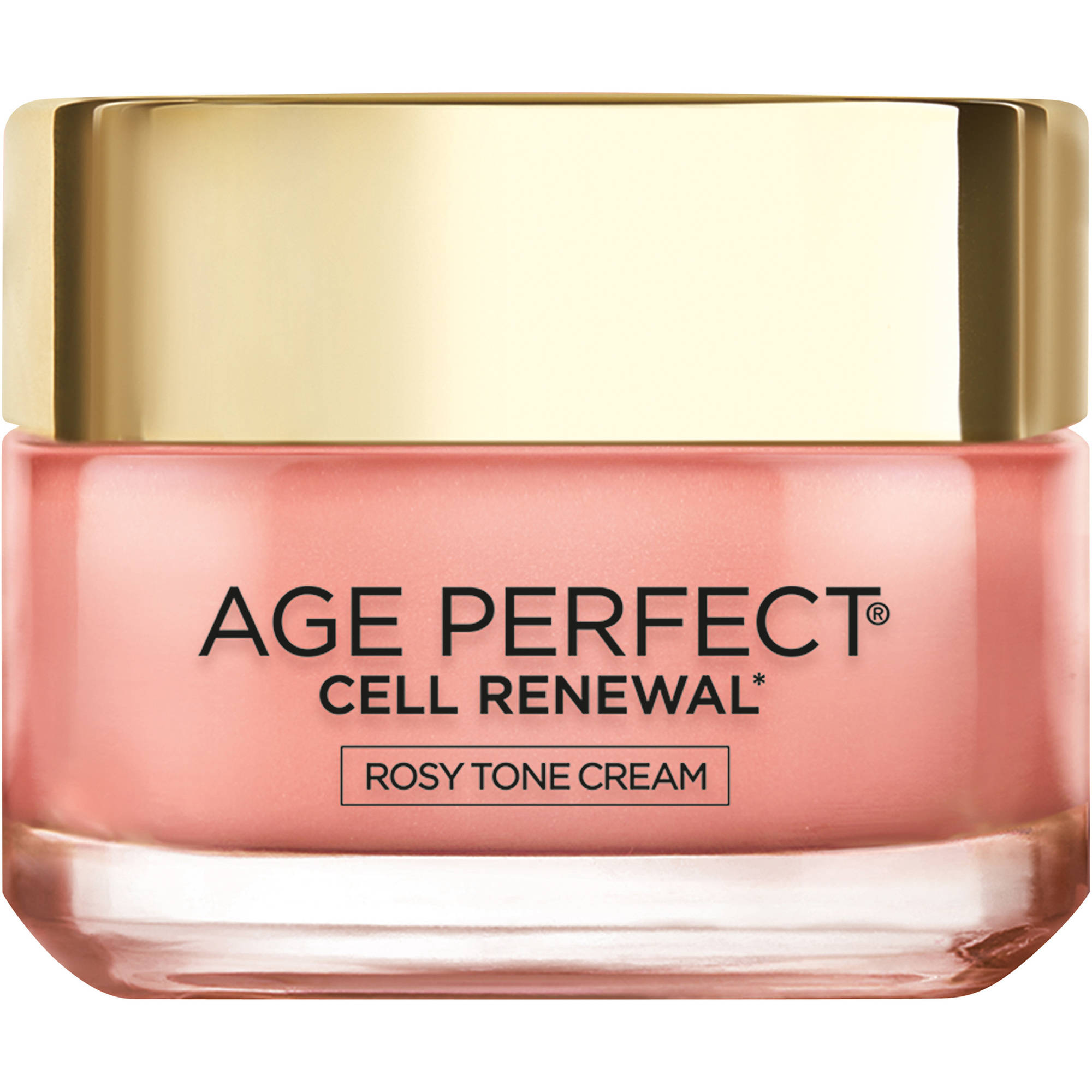 L'Oreal Paris Age Perfect Cell Renewal Rosy Tone Cream Face Moisturizer , 1.7oz
